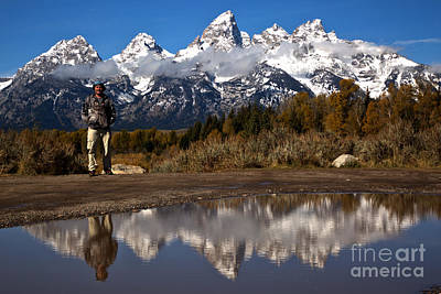 Photograph - Adam Jewell At Schwabacher Landing by Adam Jewell