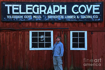 Photograph - Adam Jewell At Telegraph Cove by Adam Jewell