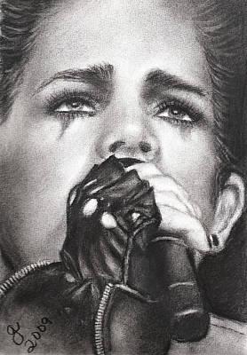 Adam Lambert Art Print by Grace Rose