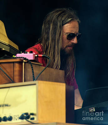 Black Crowes Photograph - Adam Macdougall With The Black Crowes by David Oppenheimer