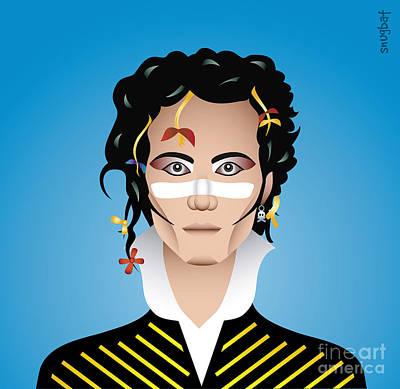 Adam Ant Digital Art - Adam by Snugbat