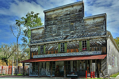Photograph - Adams Country Store by Ben Prepelka