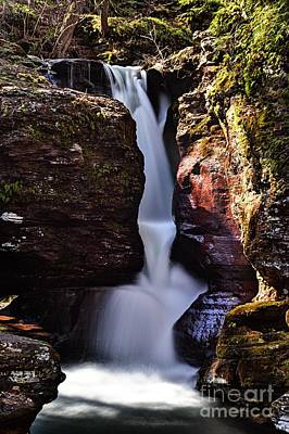 Photograph - Adams Falls by Larry Ricker