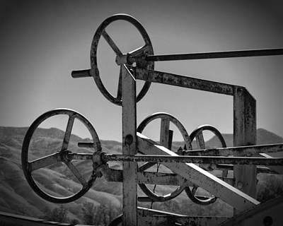 Adams Leaning Wheel Grader Steering Laws Ca Art Print