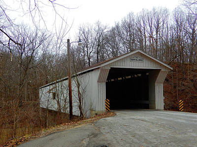 Photograph - Adams Mill Covered Bridge by Tina M Wenger