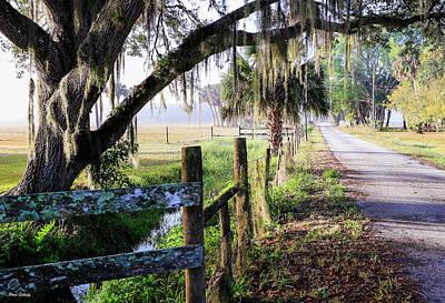 Photograph - Adams Ranch Entrance by Fran Gallogly