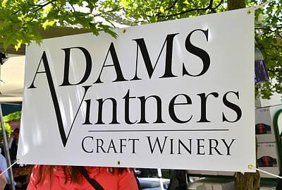 Vintner Digital Art - Adams Vintners by Wayne Baer