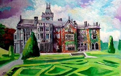 Painting - Adare Manor Co Limerck Ireland by Paul Weerasekera