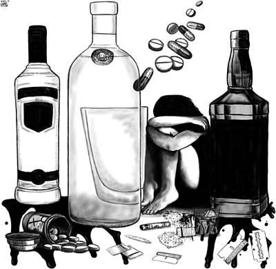 Addictions Original by Hermes Auslander