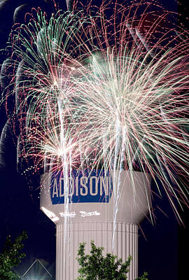 Photograph - Addison Kaboom Town 2015 V2a by Rospotte Photography