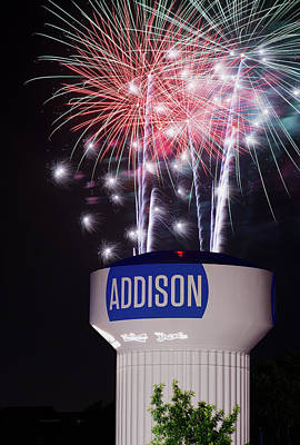 Photograph - Addison Kaboom Town V2 070918 by Rospotte Photography