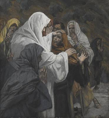 Reassurance Painting - Address To Saint Philip by Tissot
