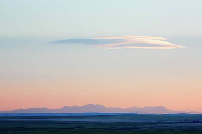 Montana Photograph - Adel Mountain Sunset by Todd Klassy