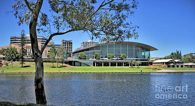 Photograph - Adelaide Convention Centre by Stephen Mitchell