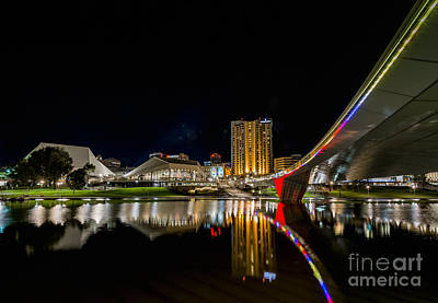 Adelaide Riverbank Art Print