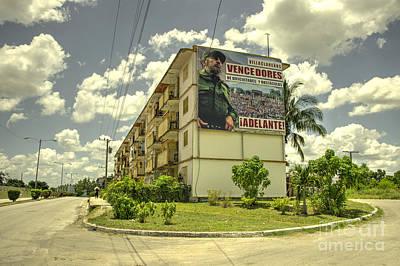Adelante From Fidel  Art Print