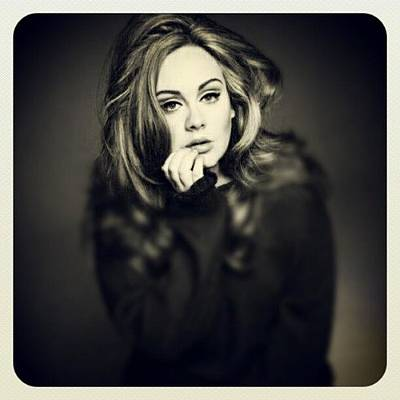 Band Wall Art - Photograph - #adele #beautiful #sexy Fave Pic Of by Steve G