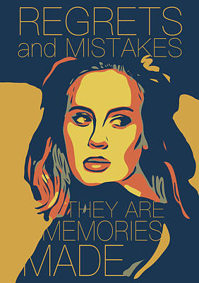 Adele Art Print by Greatom London