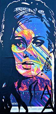 Mixed Media - Adele by Kruti Shah