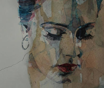 Painting - Adele - Make You Feel My Love  by Paul Lovering