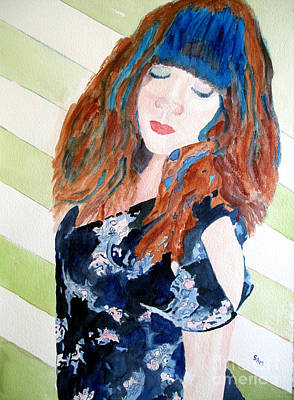 Painting - Adelina by Sandy McIntire