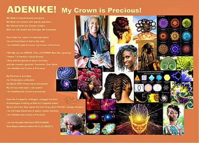 Digital Art - Adenike My Crown Is Precious by Adenike AmenRa