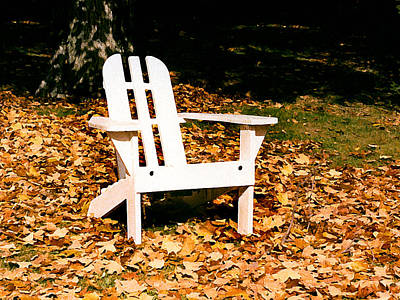 Painting - Adirondack Chair by Paul Sachtleben