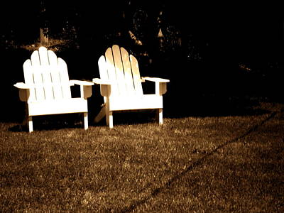 Photograph - Adirondack Chairs by Utopia Concepts