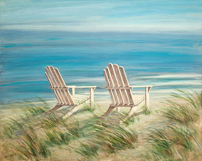 Adirondack Chairs Original by Tina Obrien