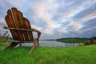 Photograph - Adirondack by David Arment