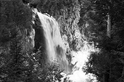 Photograph - Adirondack Falls by Bob Grabowski