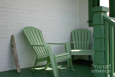 Photograph - Adirondack Green by Randy Pollard