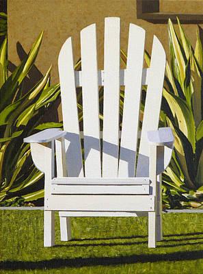 Hyperrealism Painting - Adirondack by Michael Ward