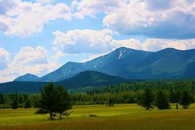 Photograph - Adirondack Mountain Landscape by Polly Castor