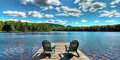 Photograph - Adirondack Panorama by David Patterson