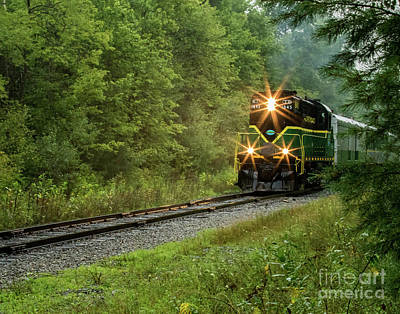 Photograph - Adirondack Rr by Phil Spitze