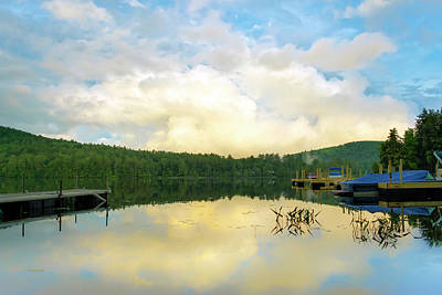 Photograph - Adirondack Sunset by Christina Rollo