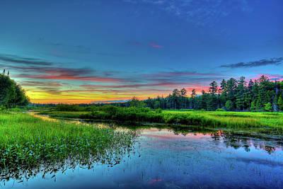 Photograph - Adirondack Sunset by David Patterson