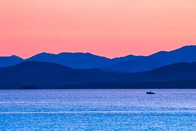 Photograph - Adirondack View At Lake Champlain by Sven Kielhorn