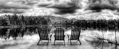 Photograph - Adirondack View by David Patterson