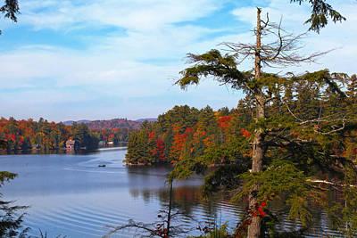 Adirondack View Art Print