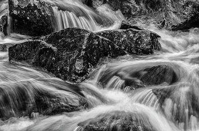 Photograph - Adirondack Waterfall by Bob Grabowski
