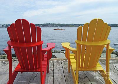 Photograph - Adirondacks Halifax by Randall Weidner