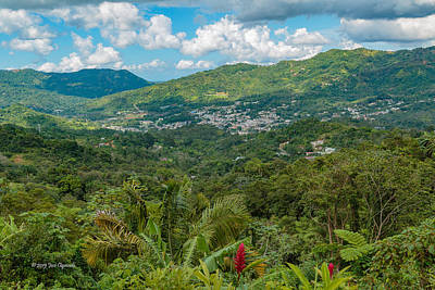 Photograph - Adjuntas by Jose Oquendo