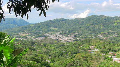 Photograph - Adjuntas Town by Walter Rivera Santos