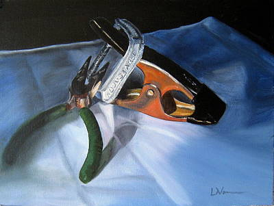 Painting - Adjustable by LaVonne Hand