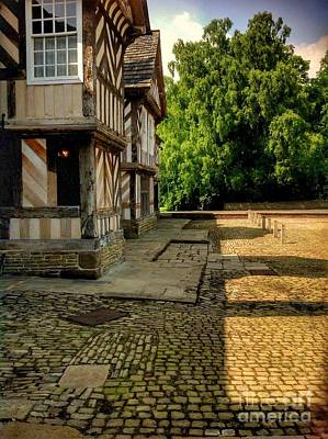 Photograph - Adlington Hall Tudor Wing by Joan-Violet Stretch