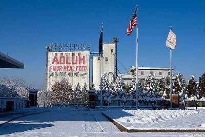 Photograph - Adluh Flour 2010 by Joseph C Hinson Photography