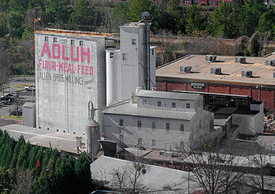 Photograph - Adluh Flour... From Above by Joseph C Hinson Photography