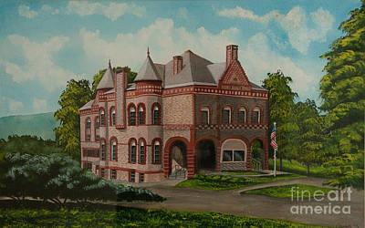 Administration Building Original by Charlotte Blanchard